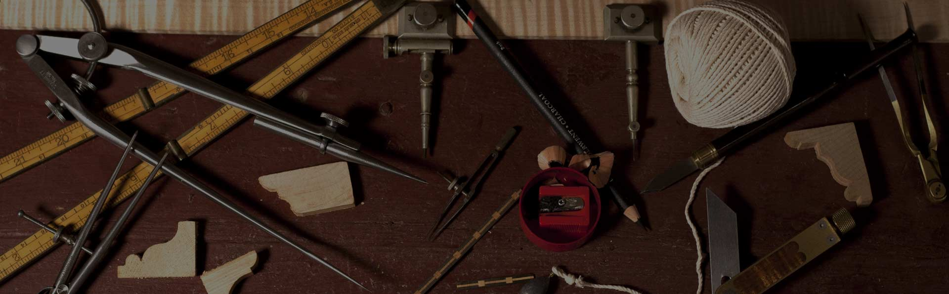 Proportional Measuring Tools on a Workbench